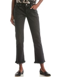 EVIDNT - Frayed Ankle Pant - Lyst