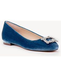 Sole Society - Pamella Embellished Flat - Lyst