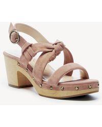 Sole Society - Mariel Knotted Platform Sandal - Lyst