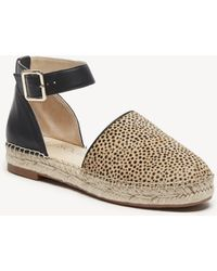 Sole Society - Stacie Two Piece Frayed Espadrille - Lyst