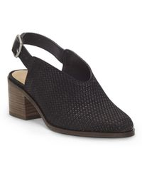 Lucky Brand - Lideton (black Nubuck Leather) Women's Shoes - Lyst
