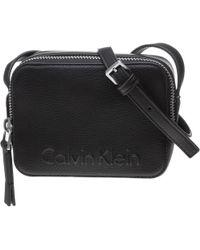 Calvin Klein | Edge Zip Cross Body Bag | Lyst