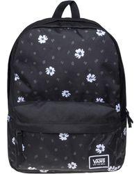 fd73832754 Vans Benched Bag - Fall Floral Women s Backpack In Black in Black - Lyst
