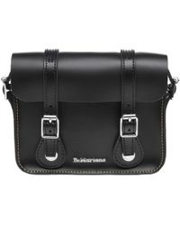 "Dr. Martens - 7"" Leather Satchel - Lyst"