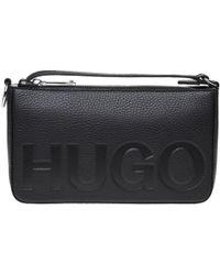HUGO - Mayfair Mini Handbag - Lyst