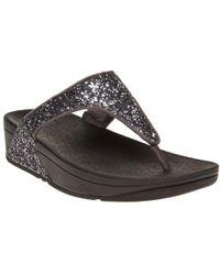 Fitflop - Glitterballtm Toe Post Sandals - Lyst