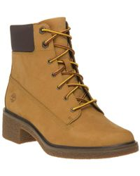 "Timberland - Brinda 6"" Lace Up Boots - Lyst"