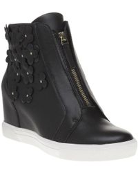 DKNY - Connie Wedge Sneaker Trainers - Lyst