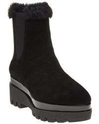 DKNY - Womens Bax Wedge Boots - Online Exclusive Black - Lyst