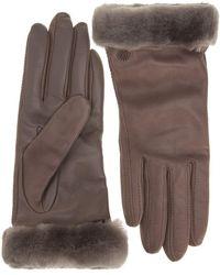 UGG - Sheepskin Turn Cuff Gloves - Lyst