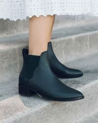 Soludos - Marfa Leather Chelsea Bootie - Lyst