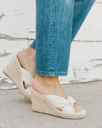 Soludos - Knotted Wedge - Lyst
