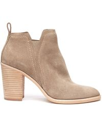South Moon Under - Suede Simone Bootie - Lyst