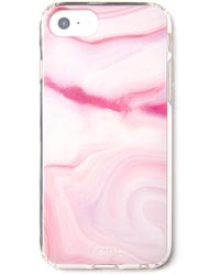 South Moon Under - Raspberry Marble Iphone 6, 6s, 7, 8 Case - Lyst