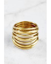Soko   Layered Strand Ring   Lyst