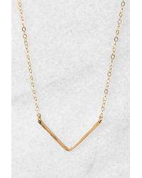 South Moon Under - V Necklace - Lyst