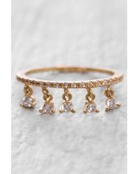 Tai - Rittichai Cz Ring With Small Charms - Lyst