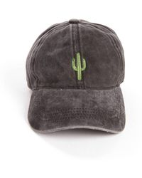 South Moon Under - Cactus Distressed Baseball Hat - Lyst