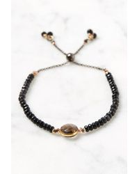 South Moon Under - Beaded Onyx Bracelet - Lyst