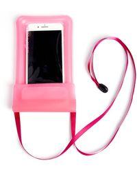 South Moon Under - Pink Waterproof Phone Sleeve - Lyst