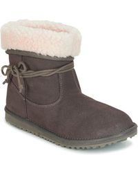 Roxy - Penny J Boot Chr Women's Mid Boots In Grey - Lyst