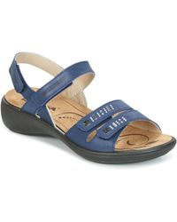 Romika - Ibiza 86 Women's Sandals In Blue - Lyst
