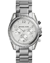 MICHAEL Michael Kors - - Mk5165 - Silver Women's Analogue Watches In Silver - Lyst