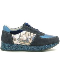 Y Not? ? W16-fyw321+yparwd Trainers Women Blue Women's Shoes (trainers) In Blue