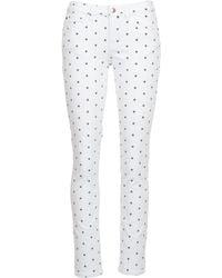 Moony Mood | Ceco Women's Trousers In White | Lyst