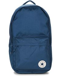 Converse - Core Poly Backpack Men's Backpack In Blue - Lyst