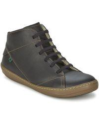 El Naturalista - Meteo Men's Mid Boots In Black - Lyst