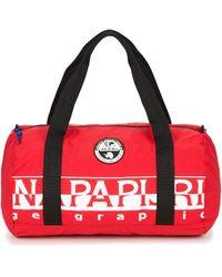 Napapijri - Bering Pack Small Women's Travel Bag In Red - Lyst