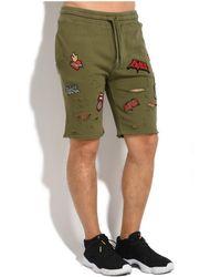 Black Kaviar - Trousers Soleen Men's Shorts In Green - Lyst