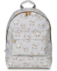 Mi-Pac - Cats Women's Backpack In White - Lyst