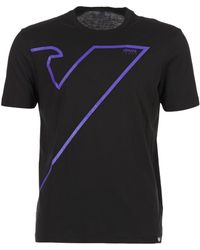 Armani Jeans - Samil Men's T Shirt In Black - Lyst