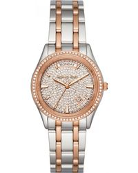 MICHAEL Michael Kors - - Mk6482 - Silver Women's Analogue Watches In Silver - Lyst
