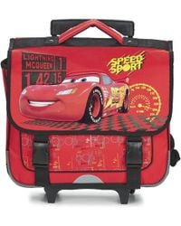 Disney | Cars Cartable Trolley 38cm Boys's Children's Rucksack In Red | Lyst