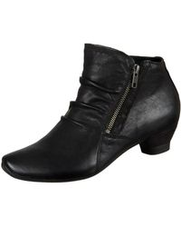 Think! - Aida Women's Low Ankle Boots In Black - Lyst