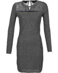 Betty London - Flouelle Women's Dress In Grey - Lyst