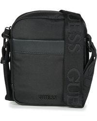 83d4cd56ae2 ... adidas Originals - Cross Body Bag In Camo Bq6090 - Lyst  low priced  76afb 5c101 Guess - Global Functional Mini Document Case Mens Pouch In Black  ...