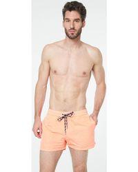 Arthur - Short de bain Fluo Orange hommes Maillots de bain en orange - Lyst