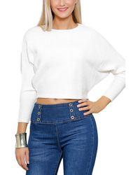 Infinie Passion - Jumper White 00w051488 White Women's Sweatshirt In White - Lyst