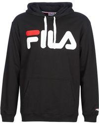 Fila - PURE HOODY femmes Sweat-shirt en Noir - Lyst
