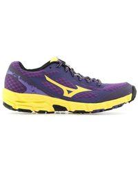 b72e5bc099f2 Mizuno - Wave Kien W J1gk147343 Women's Shoes (trainers) In Blue - Lyst