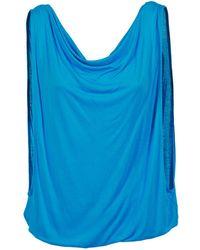 Bench | Changeyourmind Women's Vest Top In Blue | Lyst