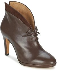 Fericelli - Ramano Women's Low Ankle Boots In Brown - Lyst