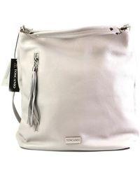 Toscanio - A45 Jszary Women's Shoulder Bag In Grey - Lyst
