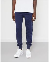The Idle Man - Slim Fit Jogger Navy Men's Sportswear In Blue - Lyst