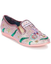 Irregular Choice - Oops A Daisy Women's Court Shoes In Pink - Lyst
