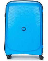 Delsey - Belmont Valise Trolley 4r 70cm Women's Hard Suitcase In Blue - Lyst